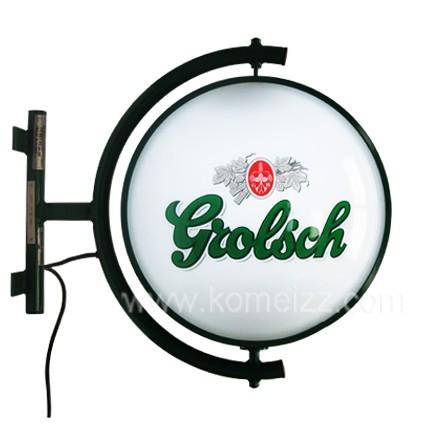 圆形灯箱-西安飞狮广告材料商城